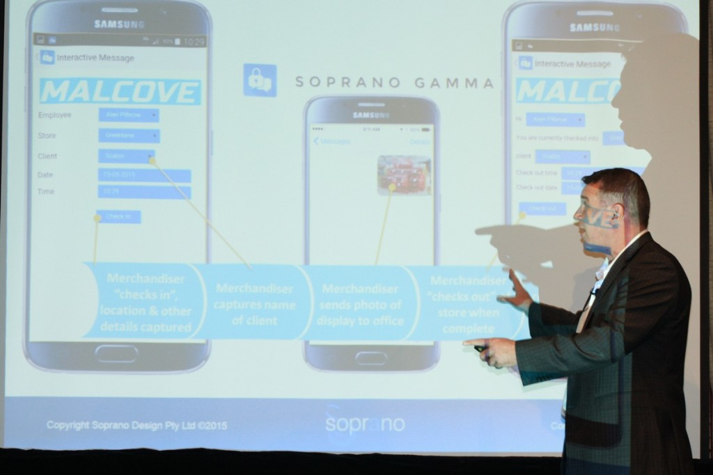Soprano Design discusses secure messaging and the future of SMS and payment platforms at the Australian OTT Summit